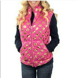 Simply Southern Elephant Printed Puffer Vest!